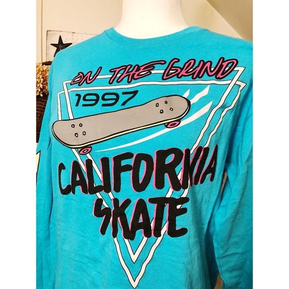 City Streets Tops - 90s Vintage Skateboard Top